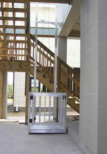 Cargo lifts residential lifts beach house lifts for Beach house lifts